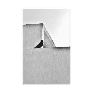 思考の鳥 キャンバスプリント