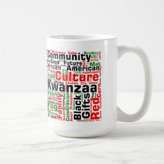 思考のKwanzaaのマグ コーヒーマグカップ