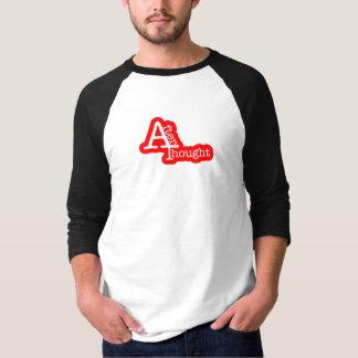 思考のTシャツの後 Tシャツ