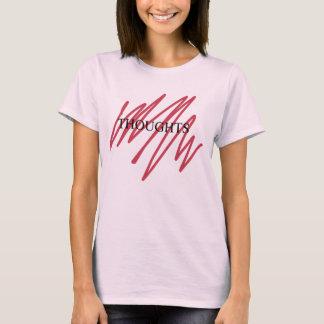 思考のTシャツ Tシャツ