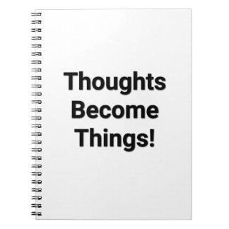 思考は事になります! ノート
