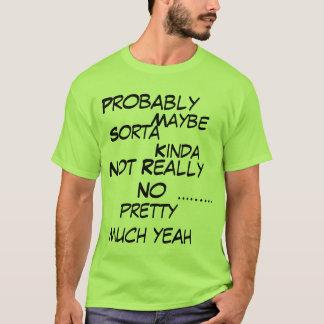 思考本当に Tシャツ