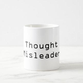 思考Misleader コーヒーマグカップ