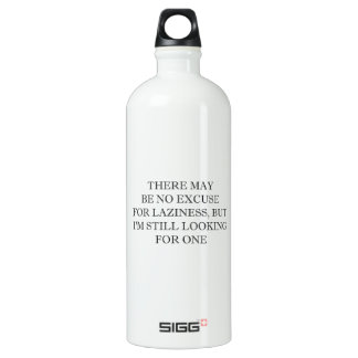 怠惰のための弁解 ウォーターボトル
