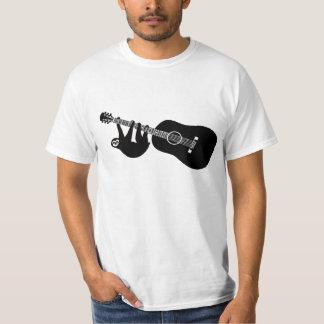 怠惰のギターのティー Tシャツ