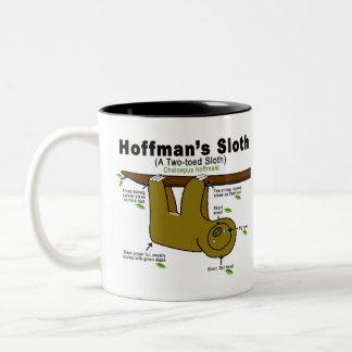 怠惰のデザインのマグ ツートーンマグカップ
