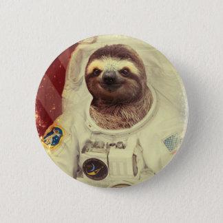 怠惰の宇宙飛行士ボタン 5.7CM 丸型バッジ