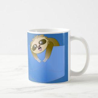 怠惰の小型の友達のマグ コーヒーマグカップ