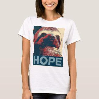 怠惰の希望ポスター Tシャツ