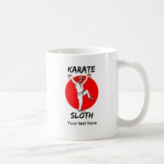怠惰の空手 コーヒーマグカップ