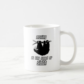 怠惰の速度の移動 コーヒーマグカップ