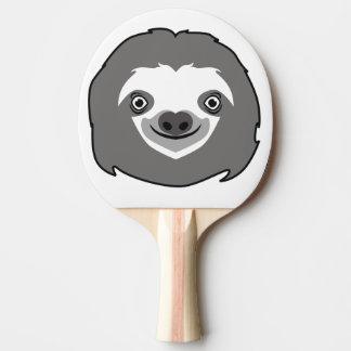 怠惰の顔 卓球ラケット
