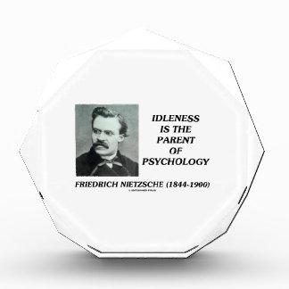 怠惰は心理学Nietzscheの親です 表彰盾