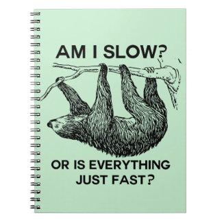 怠惰は私遅れますですか。 ノートブック