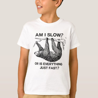 怠惰は私遅れますですか。 Tシャツ