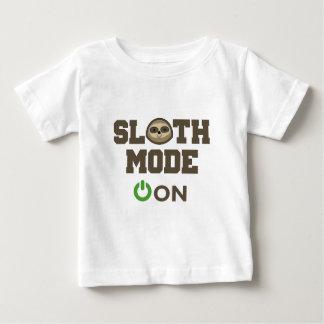 怠惰モード ベビーTシャツ