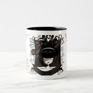 怠惰 ツートーンマグカップ
