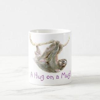"""怠惰、ミイラを持つベビー""""マグの抱擁"""" コーヒーマグカップ"""