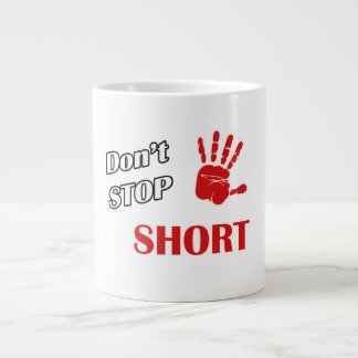 急にストップ ジャンボコーヒーマグカップ