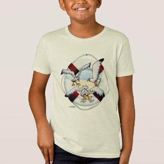 急上昇した海カモメのTシャツ Tシャツ