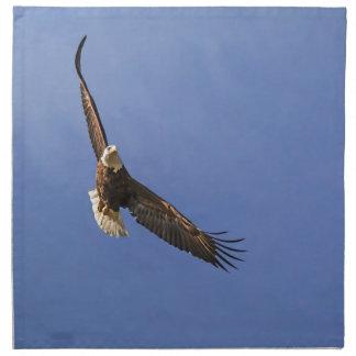 急上昇した白頭鷲 ナプキンクロス