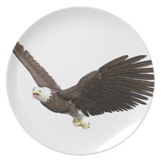急上昇した白頭鷲 プレート