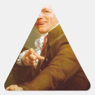 急上昇することを行くZoomersクラシック 三角形シール