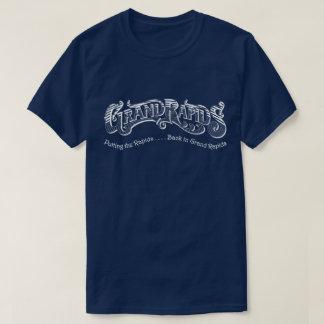 急流はGrand RapidsのTシャツで支持します Tシャツ
