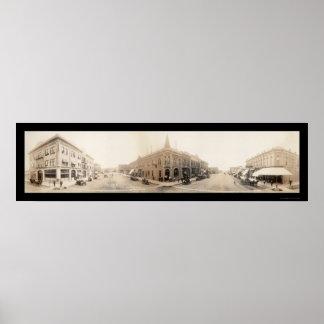 急速な都市、SDの写真1912年 ポスター
