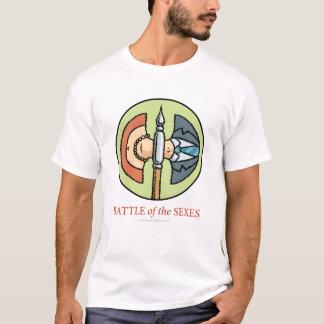 性のワイシャツの戦い Tシャツ