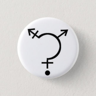 性の質問ボタン 缶バッジ