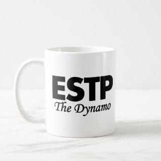 性格特徴ESTP |ダイナモ コーヒーマグカップ