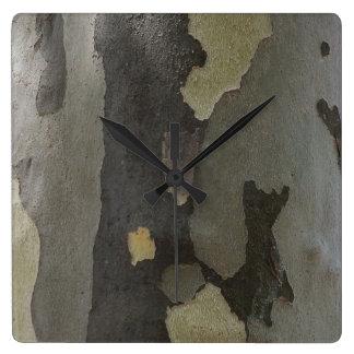 性質のカムフラージュ-プラタナスの吠え声の時計 ウォールクロック