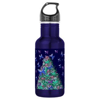性質のクリスマスツリー ウォーターボトル