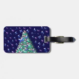 性質のクリスマスツリー ラゲッジタグ