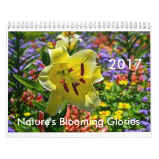 性質の咲く栄光2017のカレンダー カレンダー