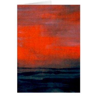 性質の戯曲- CricketDianeの海の芸術 グリーティングカード