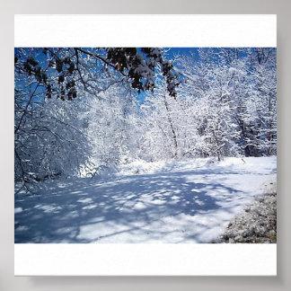 性質の美しい冬 ポスター