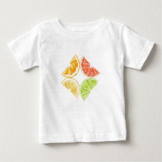 性質の酸っぱく甘い宝石 ベビーTシャツ