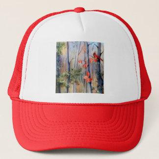 性質道の(鳥)ショウジョウコウカンチョウの帽子 キャップ