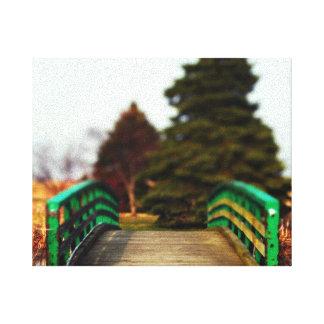 性質|橋|キャンバス|プリント 張りキャンバスプリント