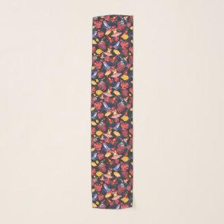 恋人のカエルのパターン スカーフ