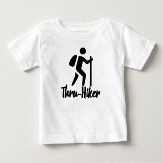 恋人のハイキング ベビーTシャツ