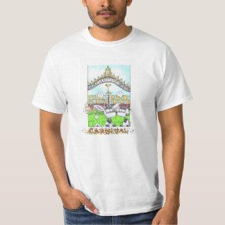 恋人を競争させるためのメルボルンのカーニバルのTシャツ Tシャツ