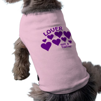 恋人ペット衣類-スタイル及び色を選んで下さい ペット服