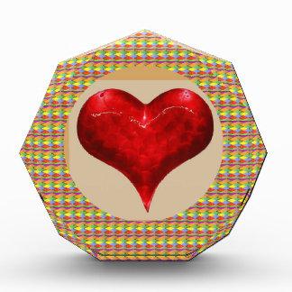 恋人-愛は空気にあります 表彰盾