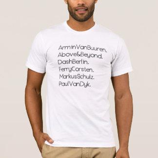 恍惚状態のDJsのTシャツ Tシャツ