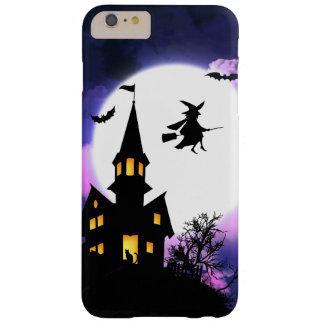 恐いお化け屋敷のハッピーハローウィン BARELY THERE iPhone 6 PLUS ケース