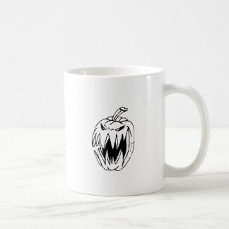 恐いカボチャ コーヒーマグカップ