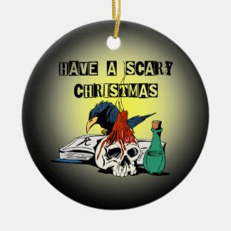 恐いクリスマス セラミックオーナメント